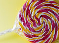 Spiral fruit lollipop Stock Photography