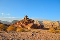 Spiral hill timna valley southwestern arabah israel Royalty Free Stock Photography