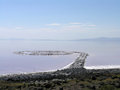Spiral Jetty inner circles Stock Images