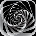 Spiral motion. Abstract background. Stock Images
