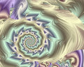 Spiral Pastels Stock Photos