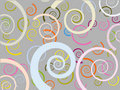 Spiral or snail textures Stock Images