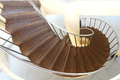 Spiral staircase luxurious with stone steps Stock Image