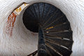Spiral Stairs in Old Lighthouse Royalty Free Stock Photo