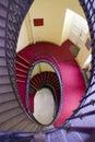 Spiral stairway Royalty Free Stock Photos
