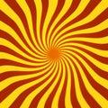 Spiral Sunburst
