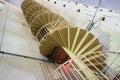 Spiraling staircase Royalty Free Stock Photo
