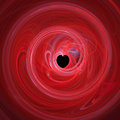 Spiralling red heart Stock Photography