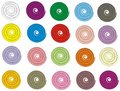 Spiraly按钮 免版税库存照片