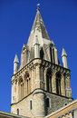 Spire of Christ Church Oxford University Royalty Free Stock Photography