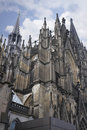 The spires of Cologne Cathedral Royalty Free Stock Photo