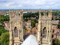Spires of York Stock Image