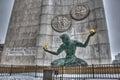 The Spirit of Detroit monument