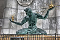 The Spirit of Detroit monument Royalty Free Stock Photo