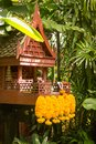 Spirit houses are intended to provide a shelter for spirits - in Thailand