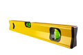 Spirit level isolated on white Clipping Paths Royalty Free Stock Photo