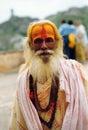 Spiritual man in india Royalty Free Stock Photo