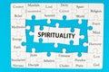 Spirituality concept Royalty Free Stock Photo