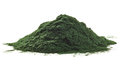 Spirulina algae powder Royalty Free Stock Photo