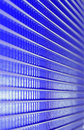 Spiry lines blue metal grid futuristic background of Stock Photos