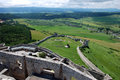 Spis castle spissky hrad slovakia is one of the largest compounds in central europe Stock Photo
