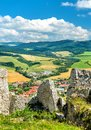 Spis Castle, a UNESCO world heritage site in Slovakia
