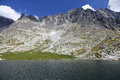 Spisskych plies tarns in high tatras slovakia mountains Stock Photography