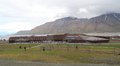 Spitsbergen university center in longyearbyen the centre provides level education arctic studies the centre is known as unis and Royalty Free Stock Photo