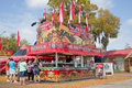 Spivey s southern grill stand outlet at the strawberry festival in plant city florida Stock Photography