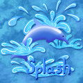 Splash Royalty Free Stock Images