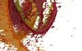 Splash of colored liquid