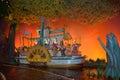 Splash mountain, Magic Kingdom, Walt disney world, Zip-A-Dee Lady Royalty Free Stock Photo
