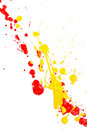 Splash Paint Stock Photography