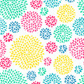 Splash seamless pattern Royalty Free Stock Photo