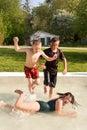 Splashing around 03 Stock Photos