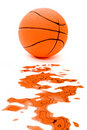 Splattered ball Stock Images