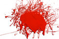 Splattered Red Paint Royalty Free Stock Images