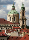 Splendid baroque church of Saint Nicolas, Royalty Free Stock Photography