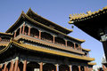 Splendid building of Chinese palace Stock Photo