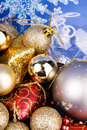Splendid Christmas toys Stock Photography