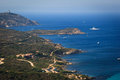 Splendid corsica coastal waters Stock Image