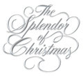 Splendor of Christmas Script Stock Photos