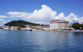 Split croatia waterfront view of Stock Photo