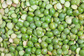 Split green peas Royalty Free Stock Image