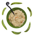 Split Pea Soup Stock Image