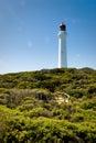 Split Point Lighthouse at Aireys Inlet, Australia Stock Photo