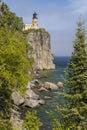 Split Rock Lighthouse On Lake Superior Royalty Free Stock Photo