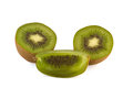 Splited kiwi Stock Photos
