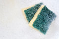 Sponge for cleen dish Royalty Free Stock Photos