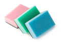 Sponges for washing dishes Royalty Free Stock Image
